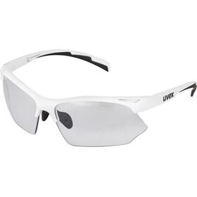 UVEX Sportstyle 802 V Sportglasses white/smoke